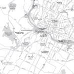 Travel map of Austin Recreation, Texas