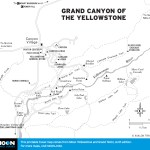 Map of Grand Canyon of the Yellowstone