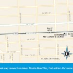 Travel map of Little Havana, Florida
