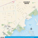 Travel map of Coconut Grove, Florida