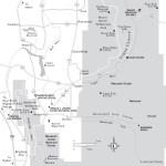Travel map of Vicinity of Logan, Utah