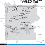 Map of Yellowstone National Park Day Hikes