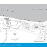 Travel map of Playas del Este, Cuba