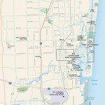 Travel map of Fort Lauderdale, Florida