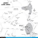 Map of Jenny Lake Area