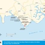 Travel map of Krabi Beaches in Thailand