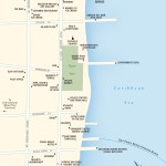 Map of Downtown San Pedro, Belize