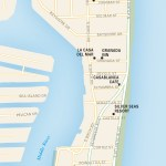 Travel map of East Fort Lauderdale, Florida