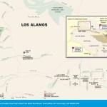 Travel map of Los Alamos, New Mexico
