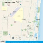 Travel map of Boca Raton, Florida