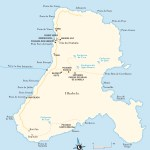 Travel map of Ilhabela, Brazil