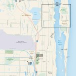 Travel map of West Palm Beach, Florida