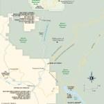 Map of Lodging South of Yosemite: HWY 41