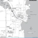 Map of Oshkosh, Wisconsin