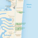 Travel map of Coco Beach, Florida