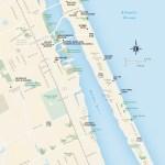 Travel map of Daytona Beach, Florida