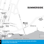 Travel map of Summerside, PEI