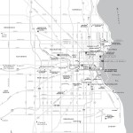 Map of Milwaukee, Wisconsin