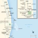 Travel map of Puerto Morelos