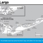 Travel map of Cayo Largo, Cuba