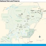 Travel map of Denali National Park and Preserve