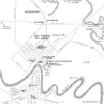 Travel map of Brownsville, Texas