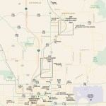 Travel map of Metro Orlando, Florida