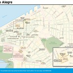 Travel map of Porto Alegre, Brazil