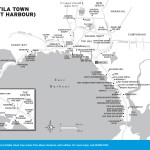 Travel map of Utila Town (East Harbour)