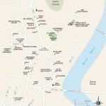 Map of Downtown San Ignacio, Beize