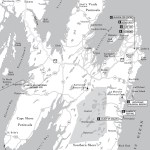 Travel map of St. John's and the Avalon Peninsula, Newfoundland