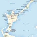 Travel map of Sandys Parish, Bermuda