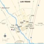 Travel map of Las Vegas, New Mexico