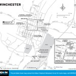 Map of Winchester, Virginia