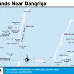 Map of Islands near Dangriga, Belize