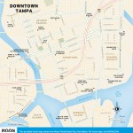 Travel map of Downtown Tampa, Florida