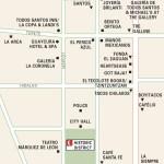 Map of Todos Santos Historic District, Mexico
