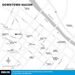 Map of Downtown Macon