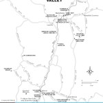 Map of Mad River Valley, Vermont
