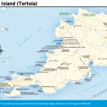 Travel map of West Island Tortola, Virgin Islands