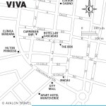 Travel map of Zona Viva, Honduras
