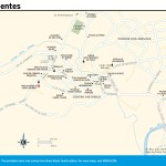 Travel map of Tiradentes, Brazil
