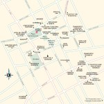 Travel map of Tlaxiaco, Oaxaca