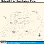 Travel map of Kohunlich Archaeological Zone