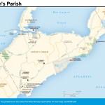 Travel map of Smith's Parish, Bermuda