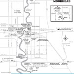Travel map of Fargo-Moorehead, Minnesota