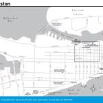 Travel map of Galveston, Texas