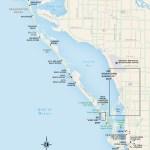 Travel map of Sarasota, Florida