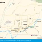 Travel map of Farmington, New Mexico