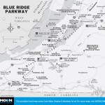 Map of the Blue Ridge Parkway